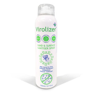 viroliser hand and surface spray 150ml