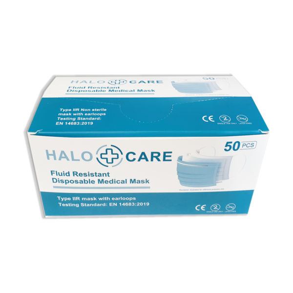 halo care type iir face mask