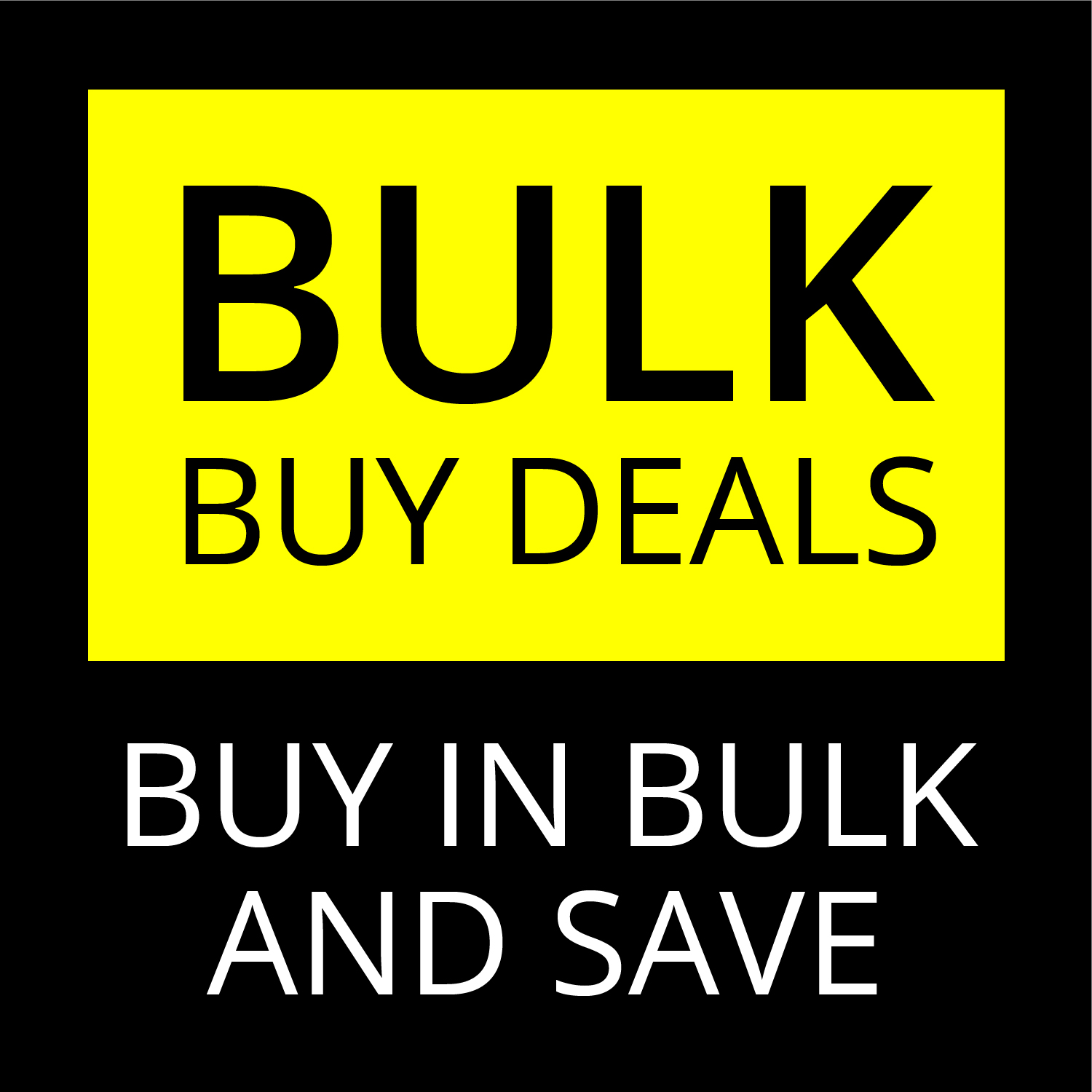 Bulk Buy Category