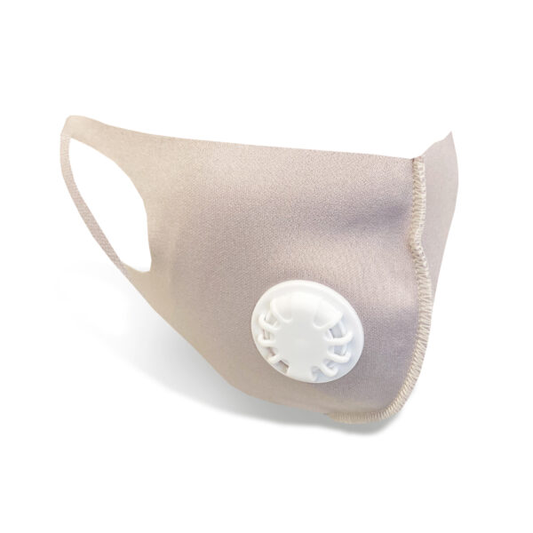 Reusable Face Mask With Valve - Mauve